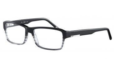 JOOP! 81067 Bifocal Prescription Eyeglasses - Black Frame and Clear Lens 81067-6456BI