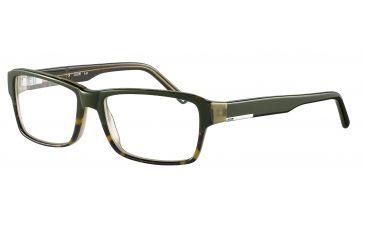 JOOP! 81067 Bifocal Prescription Eyeglasses - Green Frame and Clear Lens 81067-6457BI
