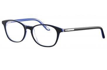 JOOP! 81070 Progressive Prescription Eyeglasses - Black Frame and Clear Lens 81070-6368PR