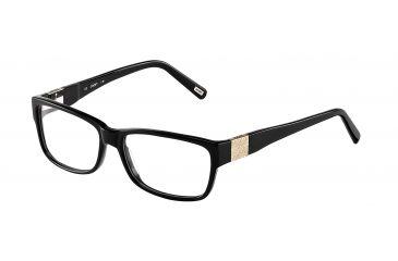 JOOP! 81078 Progressive Prescription Eyeglasses - Black Frame and Clear Lens 81078-8840PR
