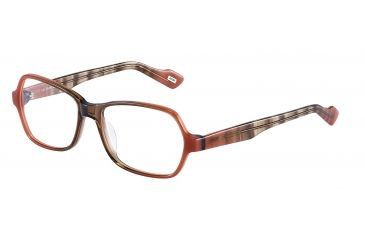 JOOP! 81082 Progressive Prescription Eyeglasses - Red Frame and Clear Lens 81082-6640PR