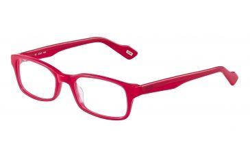 JOOP! 81088 Progressive Prescription Eyeglasses - Red Frame and Clear Lens 81088-6648PR