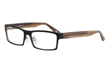 JOOP! 83164 Progressive Prescription Eyeglasses - Black Frame and Clear Lens 83164-845PR
