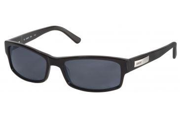 JOOP! 87132 Bifocal Prescription Sunglasses - Black Frame and Grey Blue Lens 87132-8840BI