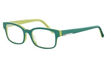 Morgan 201054 Bifocal Prescription Eyeglasses - Black Frame and Clear Lens 201054-8840BI