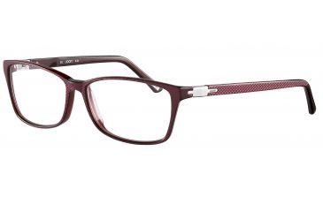 Morgan 201057 Bifocal Prescription Eyeglasses - Orange Frame and Clear Lens 201057-6532BI