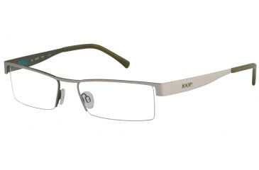 Morgan 203124 Bifocal Prescription Eyeglasses - Black Frame and Clear Lens 203124-429BI