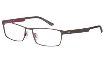 Morgan 203124 Bifocal Prescription Eyeglasses - Blue Frame and Clear Lens 203124-430BI