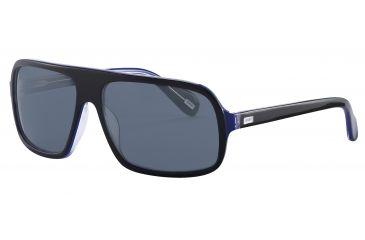 JOOP! 87144 Bifocal Prescription Sunglasses - Black Frame and Grey Lens 87144-6368BI