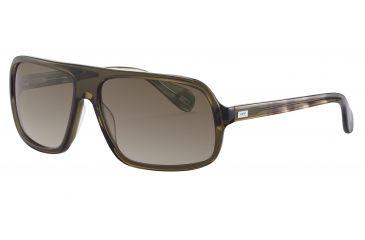 JOOP! 87144 Bifocal Prescription Sunglasses - Green Frame and Brown Gradient Lens 87144-6286BI