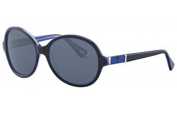 JOOP! 87147 Single Vision Prescription Sunglasses - Black Frame and Grey Lens 87147-6368SV