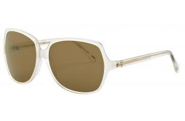JOOP! 87149 Progressive Prescription Sunglasses - White Frame and Brown Lens 87149-6383PR