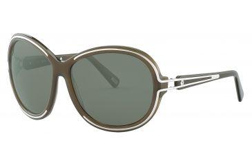 JOOP! 87151 Bifocal Prescription Sunglasses - Brown Frame and Grey Green Lens 87151-6377BI