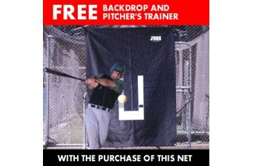 Jugs Backdrop and Pitcher Trainer - INCLUDED FREE