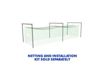 Jugs Sports Batting Cage Frame No. 4 - for No. 119, 191, 381 Netting FRM405