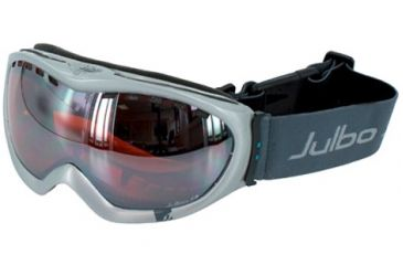 Julbo Around Excel OTG Goggles - Silver Frame, Silver Flash/Orange tint lens 79112210