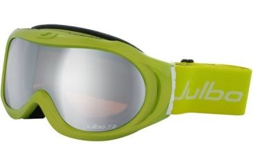 Julbo Astro Rx Insert Goggles - Lime/White Frame, Cat 3 Orange/Flash Silver 71512161