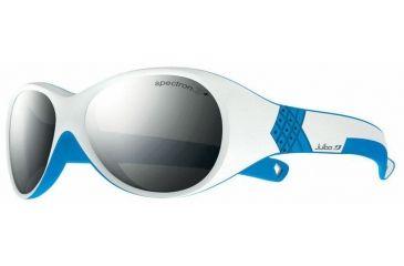 Julbo Bubble Kids Sunglasses, White/Blue w/ Spectron 3+ Lenses 3911111