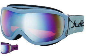 Julbo Cassiopee Rx Insert Goggles - Purple Frame, Cat 3 Multilayer Blue/Orange lens 70512261