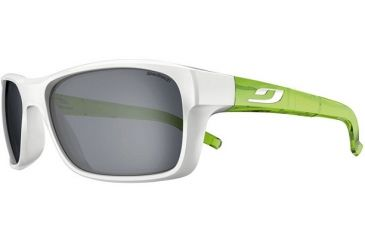 0dc492a98f Julbo Colbalt Sunglasses  Shiny White Green Frames w  Spectron 3 Lenses  4512011
