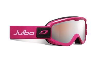 Julbo Eris Goggles, Fuschia w/Orange Cat 3 Double Cylindrical Lenses And A Silver Flash Treatment 72712184