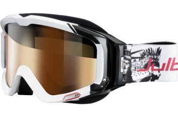 cc6fab9d73 Julbo Glenak Rx Insert Goggles - White Black Frame