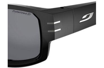 Julbo Kaizer Shiny Black Frame w/ Polarized Lenses 4489014