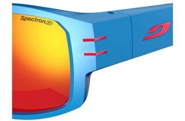 Julbo Kaizer Sunglasses Matt Blue Frame w/  Spectron 3+ Lenses 4481112