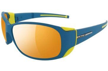 Julbo Montebianco Sunglasses, Blue/Yellow Frame w/ Zebra Lenses 4153112