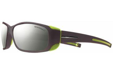 Julbo Montebianco Sunglasses, Matt Black/Lime w/ Spectron 4 Lenses 4151241