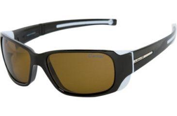 Julbo Monterosa Mountain Sunglasses, Camel Frame, Antifog Black Lens 401514