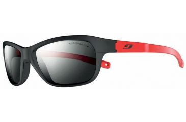 Julbo Player L Sunglasses, Black/Red w/ Spectron 3+ Lenses 4631114