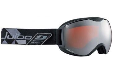 Julbo Quantum Goggles, Blue/Grey w/Orange Polarized Cat 3 Double Spherical Lenses And A Silver Flash Treatment 73791144
