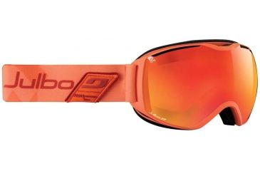 Julbo Quantum Goggles, Orange w/Orange Polarized Cat 3 Double Spherical Lenses And A Multilayer Fire Flash Treatment 73791784