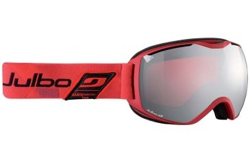 Julbo Quantum Goggles, Red/Black w/Vermillion Cat 3 Double Spherical Lenses And A Silver Flash Treatment 73713134