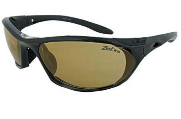 Julbo Race Speed Sunglasses - Shiny Black, Zebra Photochromic 2/4 Lenses