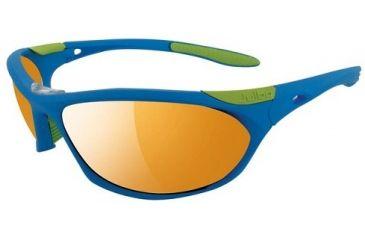 Julbo Race  Sunglasses, Blue/Yellow Frame With Zebra Lenses 2423112
