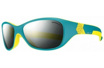 Julbo Solan Kids Sunglasses, Blue/Yellow w/ Spectron 3+ Lenses 3901112