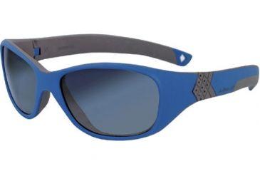 Julbo Solan Kids Sunglasses - Blue/Grey Frame, Spectron 3+ Ages 4-6 390121