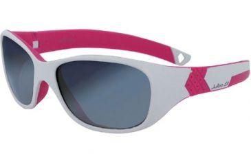 Julbo Solan Kids Sunglasses - Grey/Pink Frame, Spectron 3+ Ages 4-6 390119