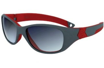 Julbo Solan Kids Rx Sunglasses - Grey/Red Frame, Spectron 3+ Ages 4-6 390113