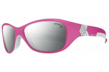 Julbo Solan Kids Sunglasses, Pink/Grey w/ Spectron 4 Lenses 3902318
