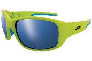 Julbo Stunt Apple Green/Blue Frame w/ Spectron 3+ Lenses 4381116