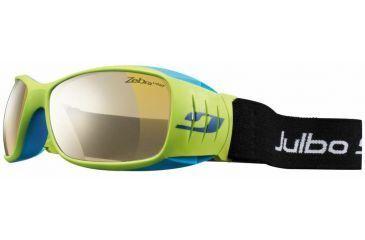 Julbo Tensing Flight Sunglasses, Yellow/Blue Interchangeable Zebra And Polarized Lenses 4363116