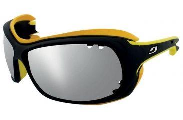 Julbo Wave Sunglasses Black Yellow Frame w  Polarized 3+ Lenses 4429114 ab78b794bd27
