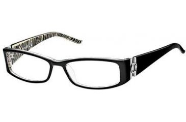 3b57152fd8a Just Cavalli JC0244 Eyeglass Frames - Black Frame Color