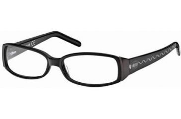 Just Cavalli JC0297 Eyeglass Frames - Shiny Black Frame Color