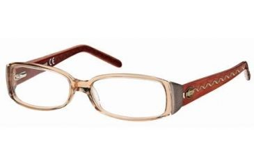Just Cavalli JC0297 Eyeglass Frames - Light Brown Frame Color