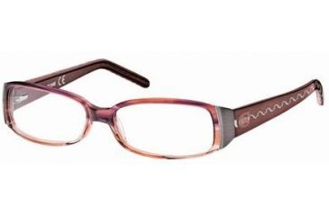 Just Cavalli JC0297 Eyeglass Frames - Bordeaux Frame Color