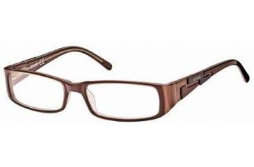 Just Cavalli JC0298 Eyeglass Frames - Dark Brown Frame Color